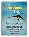 Is it the job, the boss, you . . . or are you an entrepreneur? Find your career stressors E-book